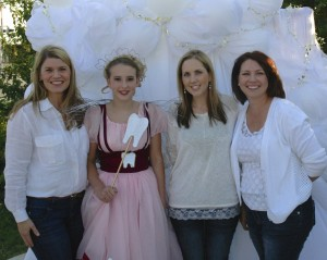 The tooth fairy, Dr. Hagen and staff at the Leander Fire Dept. Fall Festival.