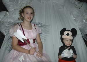 The tooth fairy and Mickey!